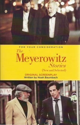 The Meyerowitz Stories Original Screenplay, Noah Baumbach