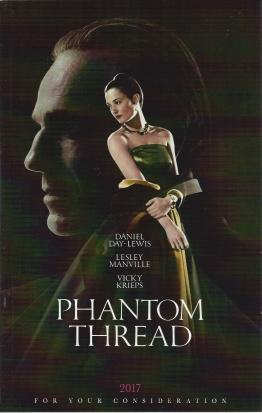 Phantom Thread (Screenplay), Paul Thomas Anderson