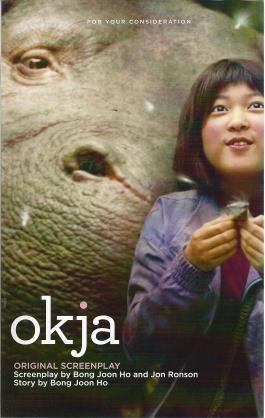 Okja (Screenplay), Bong Joan Ho and Jon Ronson