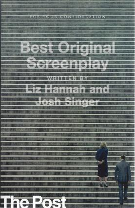 The Post (Screenplay), Liz Hannah and Josh Singer