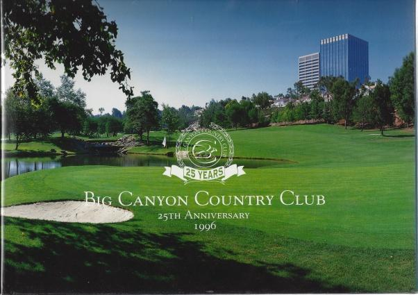 Big Canyon Country Club 25th Anniversary