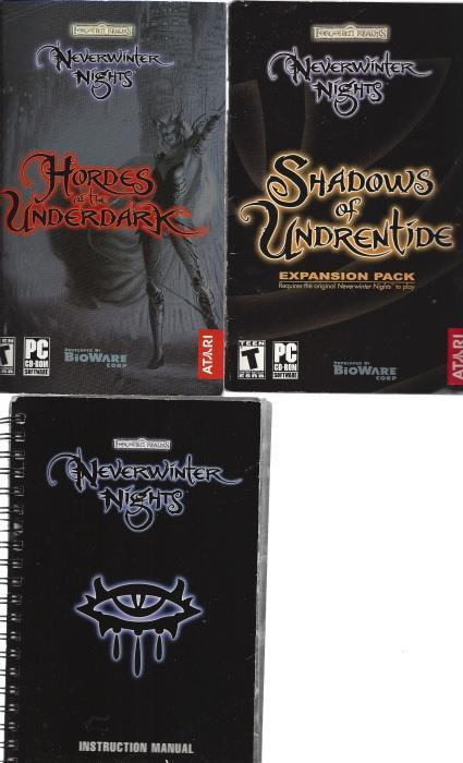 Forgotten Realms Neverwinter Nights 3 Volume Set, N/A