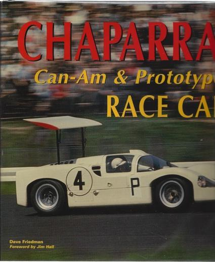 Chaparral Can-Am and Prototype Race Cars, Friedman, Dave