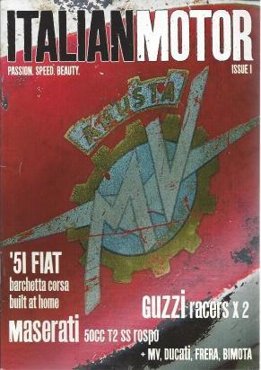 Italian Motor Magazine 7 Issue Set, Issues 1-7, JA Bolton
