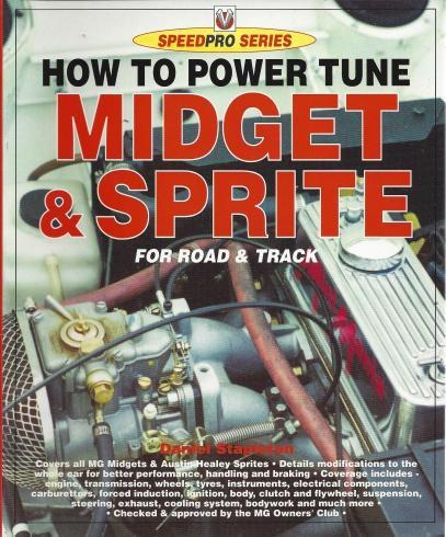 How to Power Tune Midget & Sprite for Road & Track (Speedpro Series), Stapleton, Daniel