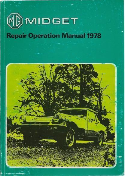 Midget Repair Operations Manual 1978, N/A