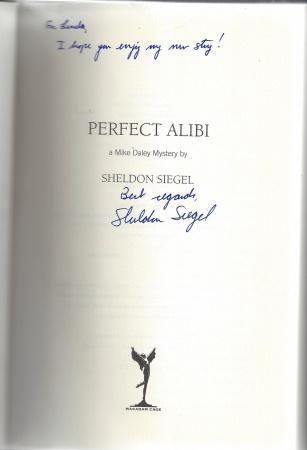 Perfect Alibi (Mike Daley Mystery #7), Siegel, Sheldon