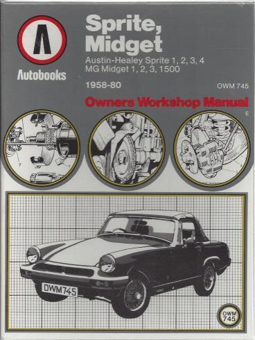 Sprite, Midget 1958-80 Autobook