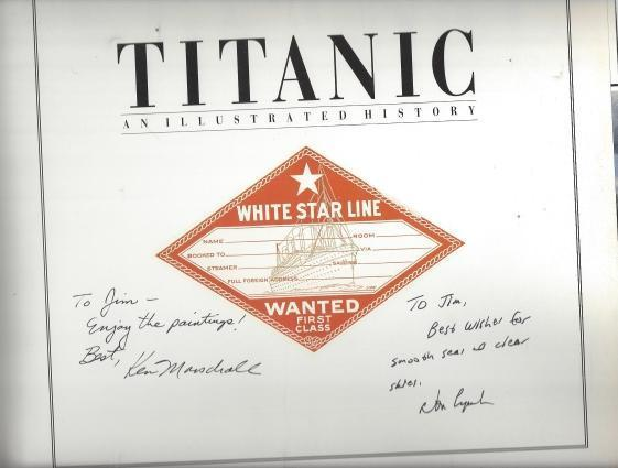 TITANIC, An Illustrated History, Lynch, Don; Profusely illustrated [Illustrator]
