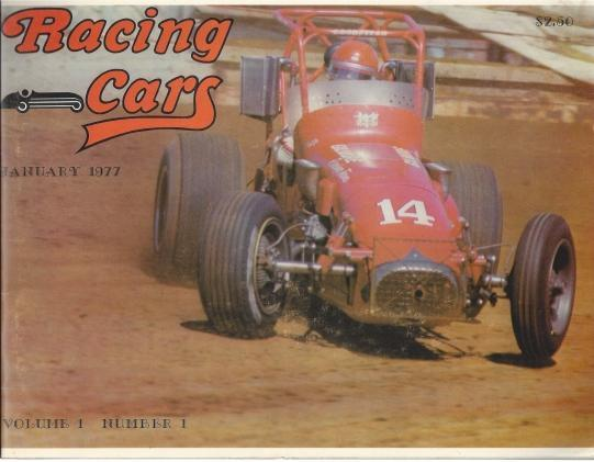 Racing Cars January 1977, Volume 1, Number 1, Jerry Miller (Editor)