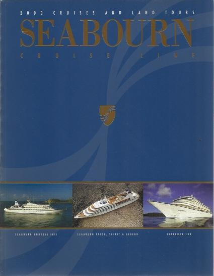 2000 Cruises And Land Tours Seabourn Cruise Line, N/A