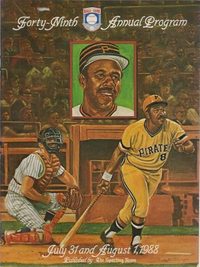 Hall of Fame, Forty-ninth Annual Program, July 31 and August 1, 1988, Reidenbaugh, Lowell, et al