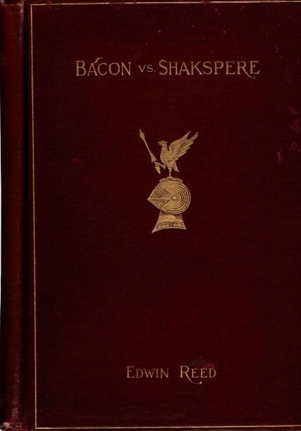 Bacon vs. Shakspere: Brief for Plaintiff, Edwin Reed
