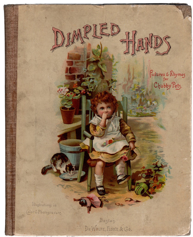 Dimpled Hands: Pictures & Rhymes for Chubby Pets