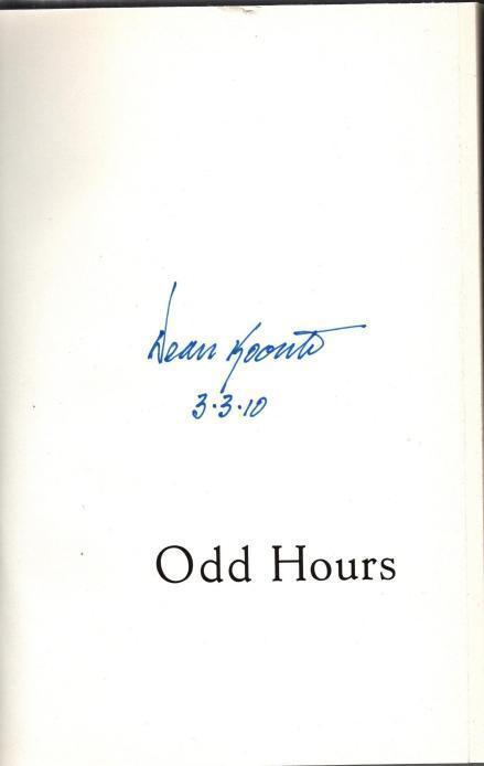 Odd Hours, Koontz, Dean