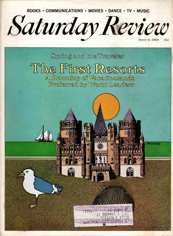 Saturday Review March 8, 1969, N/A
