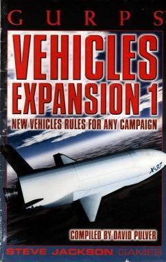 GURPS Vehicles Expansion 1, Pulver, David [Compiler]