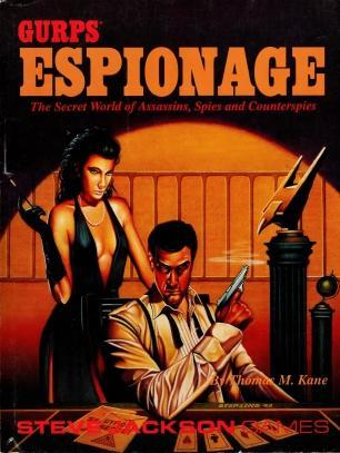 Gurps Espionage: The Secret World of Assassins, Spies and Counterspies, Kane, Thomas M.
