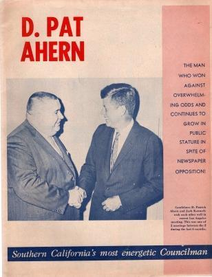 D. Pat Ahern, Southern California's Most Energetic Congressman, Ahern For Congress Committee