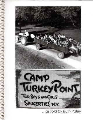 Camp Turkey Point, Ruth Paley; Ruth Paley [Contributor]