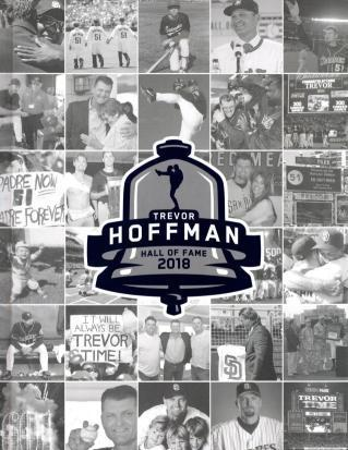 Trevor Hoffman: Hall of Fame 2018, San Diego Padres