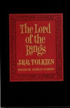 Lord Of The Rings 3 Volume Set, Revised Edition, J.R.R. Tolkien