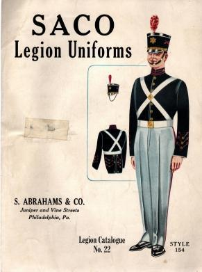 Saco Legion Uniforms, Legion Catalogue No. 22, N/A