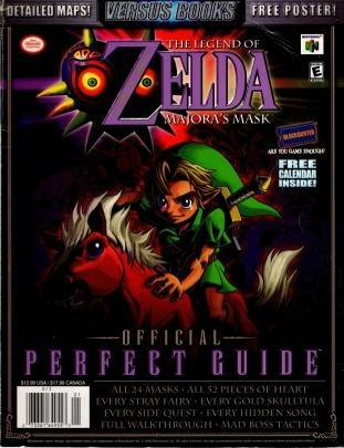 The Legend of Zelda: Majora's Mask Official Perfect Guide (Versus Books), Loe, Casey