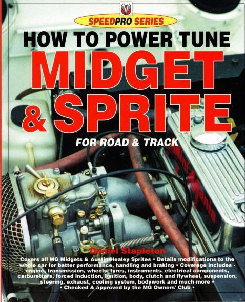 How to Power Tune Midget & Sprite for Road & Track (Speedpro Series), Stapleton, Daniel
