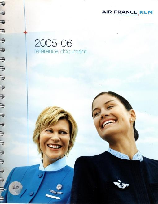 Air France KLM 2005-06 Reference Document, N/A