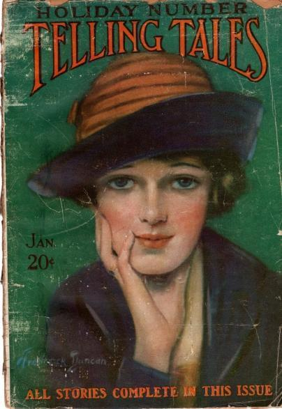 Telling Tales Magazine January, 1921, N/A