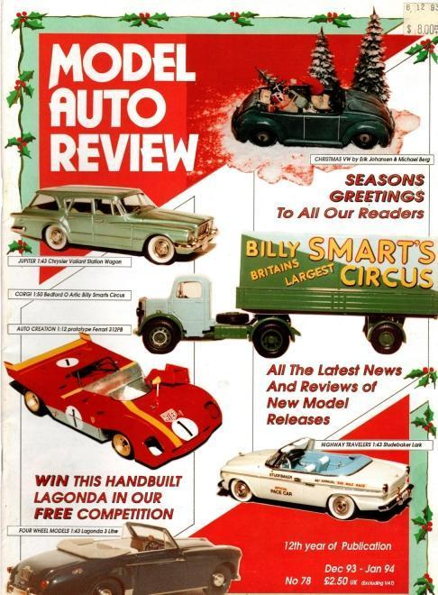 Model Auto Review, 9 Volume Set, Numbers 78-87, N/A