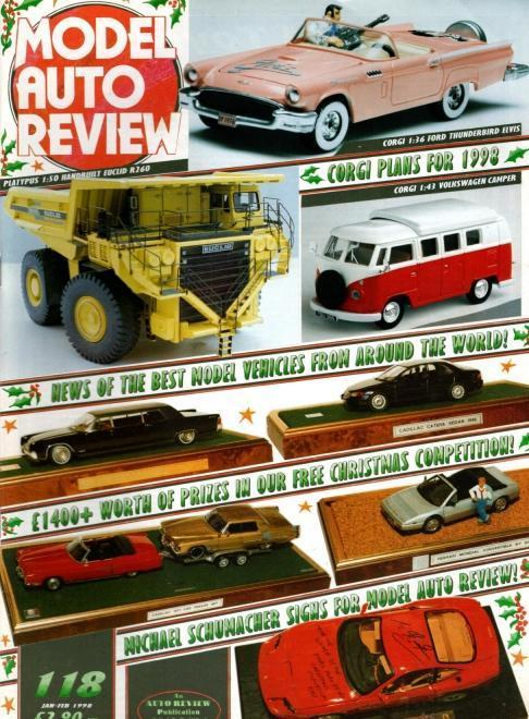 Model Auto Review 4 Volume Set, Numbers 118-121, N/A