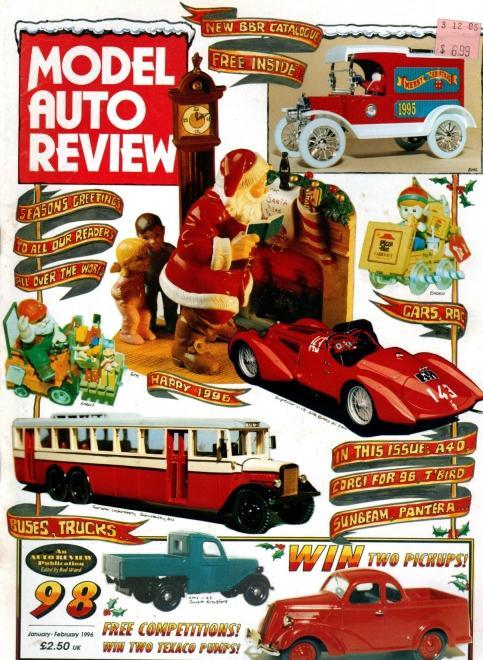 Model Auto Review, 7 Volume Set, Numbers 98-11 & 105-107, N/A