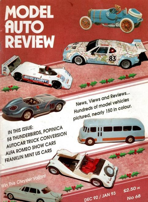 Model Auto Review, 11 Volume Set, Numbers 68-77, N/A