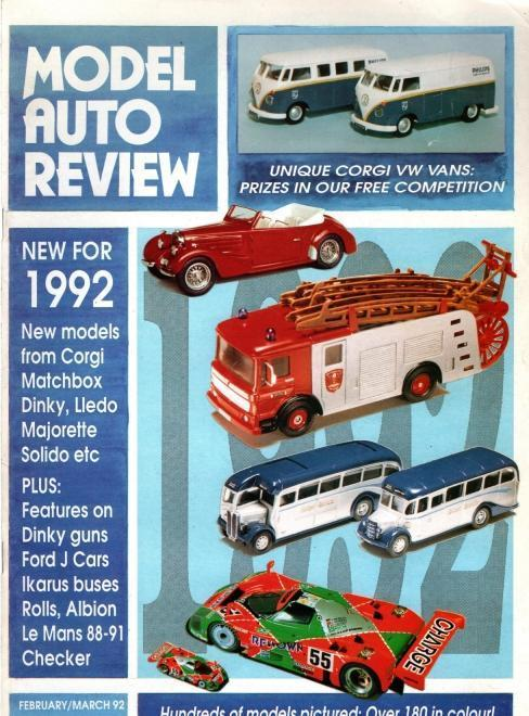 Model Auto Review, 9 Volume Set, Numbers 59-67, N/A