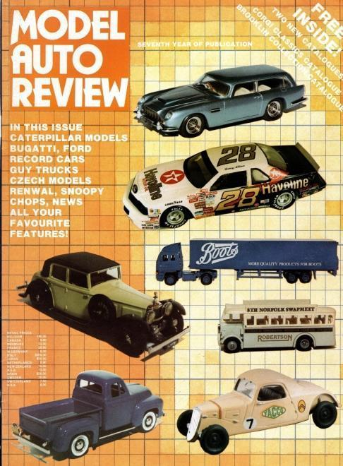 Model Auto Review, 3 Volume Set, Numbers 33-35, N/A