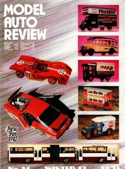Model Auto Review, 3 Volume Set, Numbers 24-26, N/A