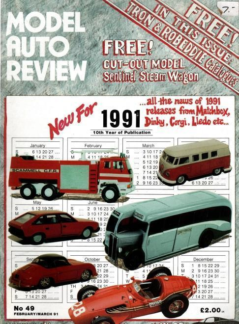 Model Auto Review, 12 Volume Set, Numbers 49-58, N/A