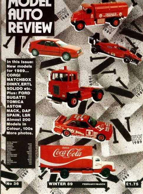 Model Auto Review, 5 Volume Set, Numbers 36-39 & 41, N/A