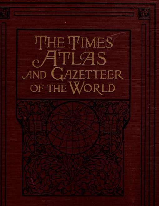 The Times Atlas and Gazetteer of the World, N/A