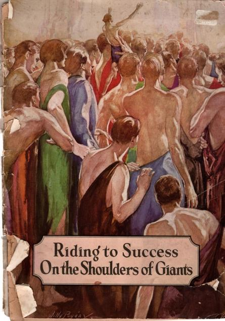 Riding to Success On the Shoulders of Giants, Elbert Hubbard