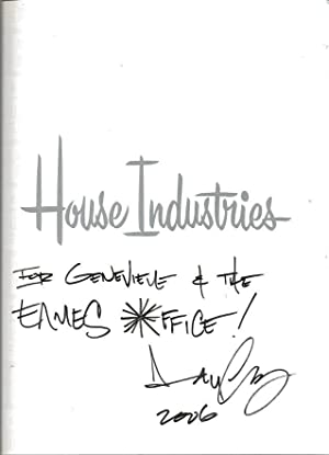 SIGNED* House Industries: House Industries