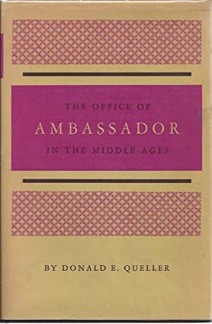 The office of ambassador in the Middle Ages,