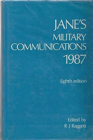 Jane's Military Communications 1987: Raggett, R. J.