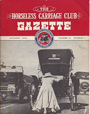 The Horseless Carriage Club Gazette, vol.12, no.4: n/a