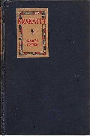 Krakatit: Karel Capek; Lawrence