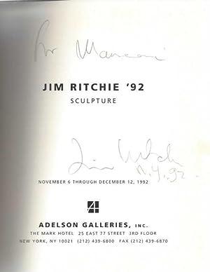 Jim Ritchie '92: Sculpture, November 6 through: Jim Ritchie