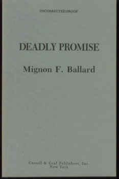 Deadly Promise: A Novel of Suspense