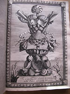 RICREATIONE DELL'OCCHIO E DELLA MENTE NELL'OSSERVATION DELLE: BUONANNI, FILIPPO 1638-1723.